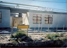 contrucción del edificio